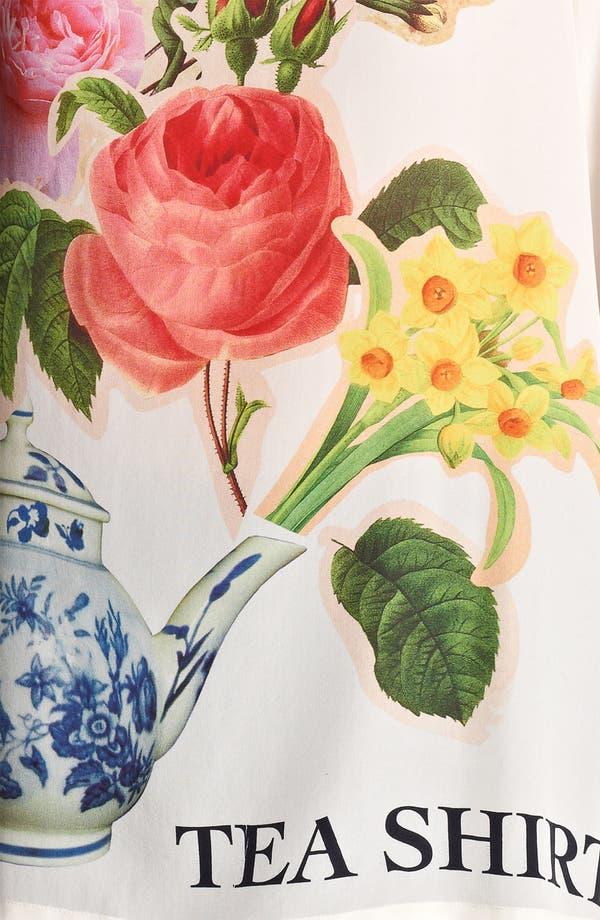 Alternate Image 3  - Moschino Cheap & Chic 'Tea Shirt' Print Silk Tee
