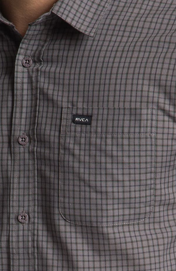 Alternate Image 3  - RVCA 'Borealis' Check Woven Shirt