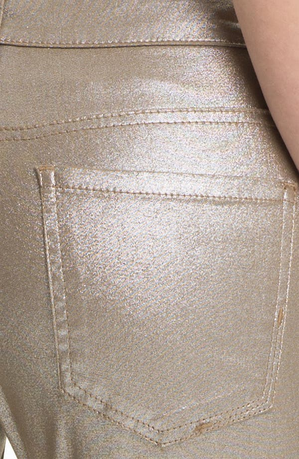 Alternate Image 3  - Liverpool Jeans Company 'Abby' Metallic Coated Skinny Jeans (Petite) (Online Exclusive)