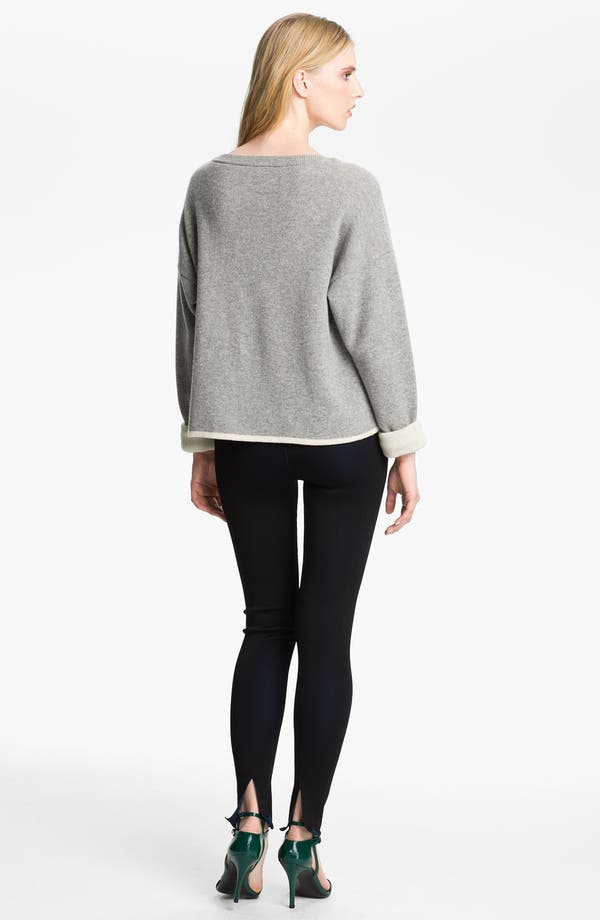 Alternate Image 2  - Alexander Wang Reversible Crop Pullover