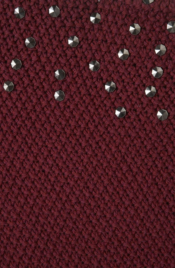 Alternate Image 4  - Topshop 'Grunge' Studded Maternity Sweater