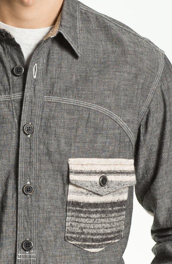 Alternate Image 3  - PRPS 'Naval' Woven Shirt