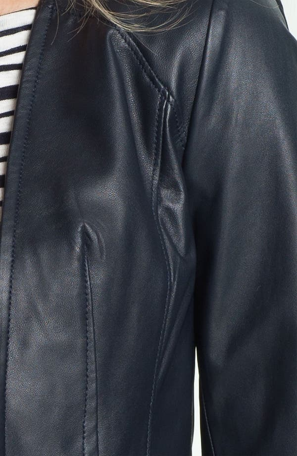 Alternate Image 3  - Tory Burch 'Abby' Leather Jacket
