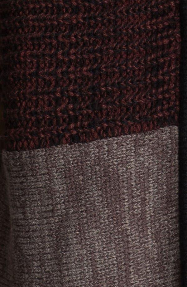 Alternate Image 3  - Trouvé Colorblock Zip Up Cardigan