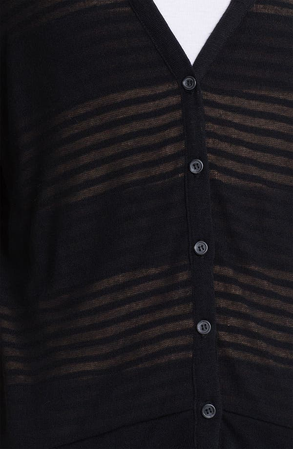 Alternate Image 3  - Splendid Double Knit Stripe Cardigan