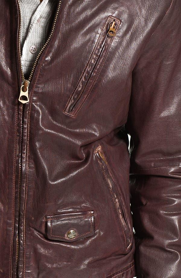Alternate Image 3  - Scotch & Soda Leather Moto Jacket