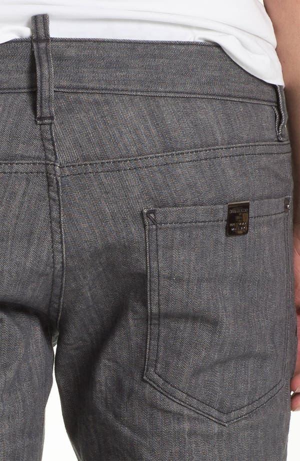 Alternate Image 4  - Dsquared2 Stretch Slim Fit Jeans (Grey)