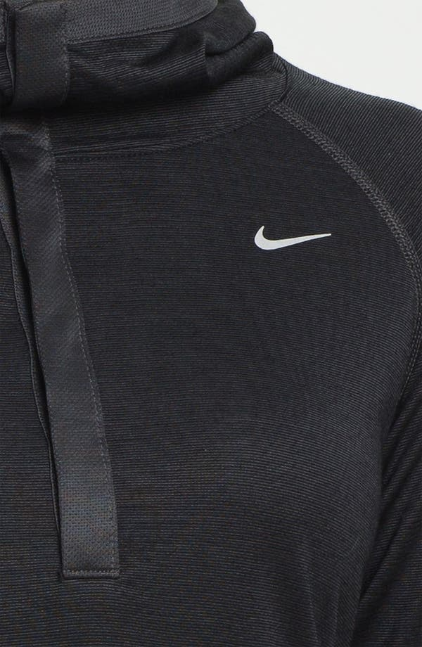 Alternate Image 3  - Nike Wool Blend Dri-FIT Running Hoodie