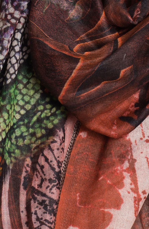 'Capricorn' Cashmere & Silk Scarf,                             Alternate thumbnail 2, color,                             Capricorn