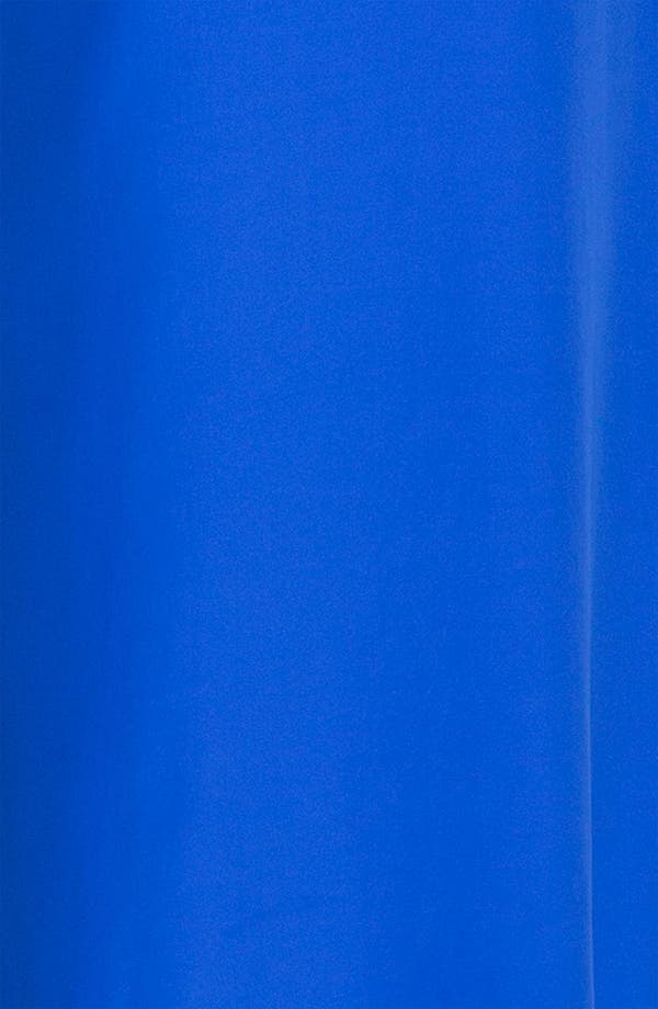 Alternate Image 3  - ALICE & TRIXIE 'Tiffany' Double Tie Silk Halter Maxi Dress