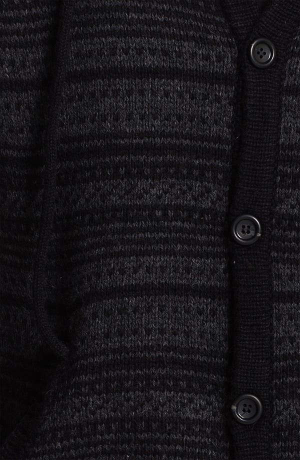 Alternate Image 3  - RVCA 'Scando' Jacquard Knit Hoodie
