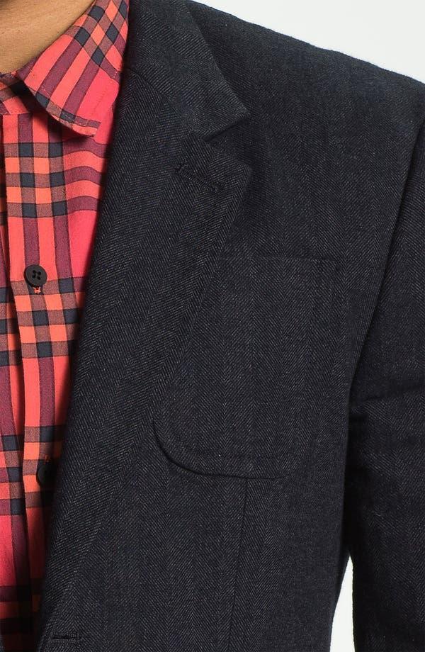 Alternate Image 3  - MARC BY MARC JACOBS 'Drake' Herringbone Cotton Blazer