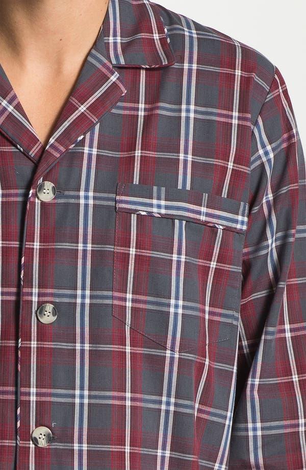 Alternate Image 3  - Majestic Plaid Easy Care Pajama Set (Big & Tall)