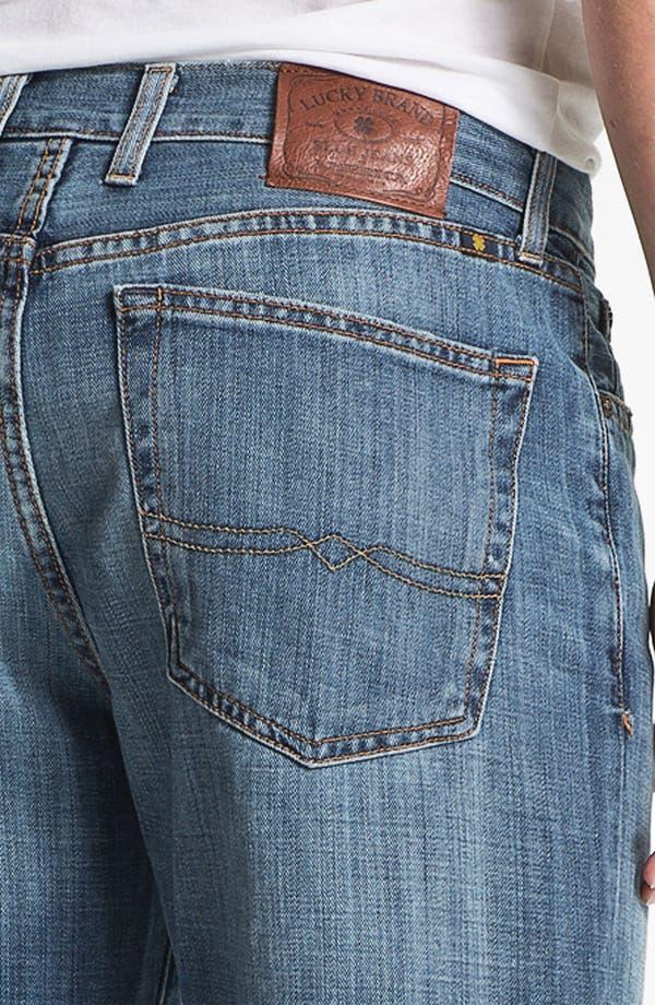 Alternate Image 4  - Lucky Brand '329 Classic' Straight Leg Jeans (Light Gessner)