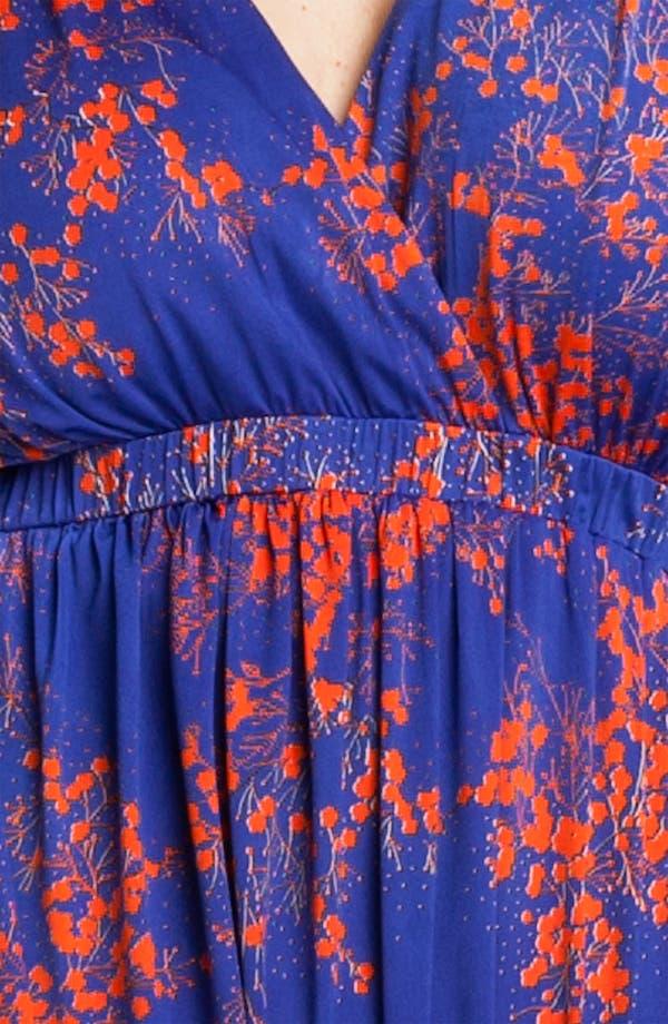 Alternate Image 3  - Tbags Los Angeles Surplice Knit Maxi Dress (Plus)