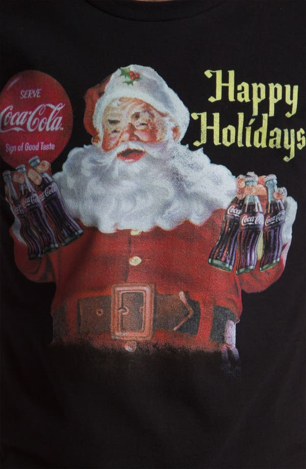 Alternate Image 3  - Topless 'Classic Santa' T-Shirt