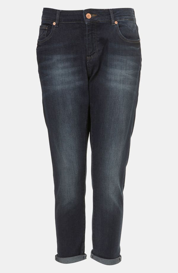 Alternate Image 1 Selected - Topshop Moto 'Ami' Boyfriend Fit Jeans