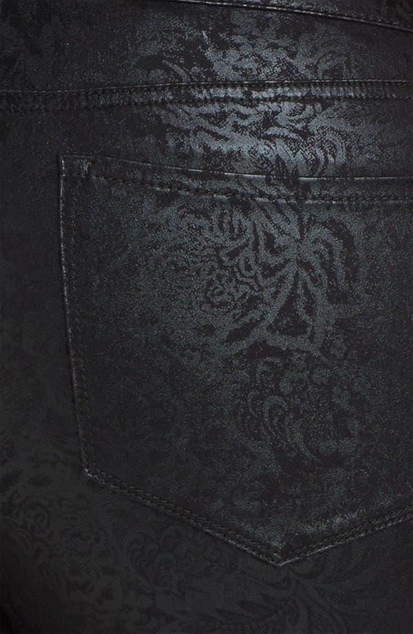 Alternate Image 3  - NYDJ 'Sheri - Gilded Lily' Stretch Denim Jeans (Plus)