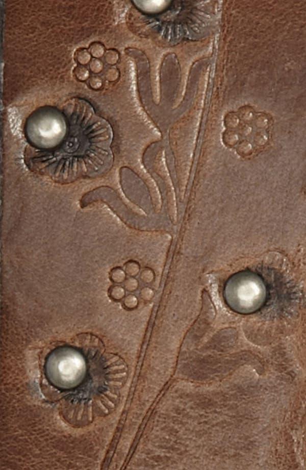 Alternate Image 2  - Nudie Leather Belt