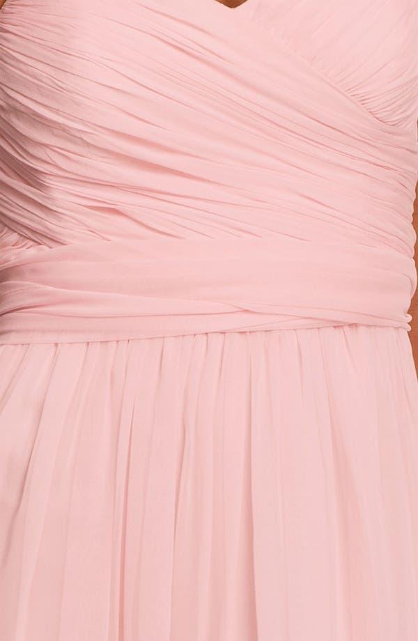 Alternate Image 3  - Jill Jill Stuart Strapless Silk Chiffon Sweetheart Gown