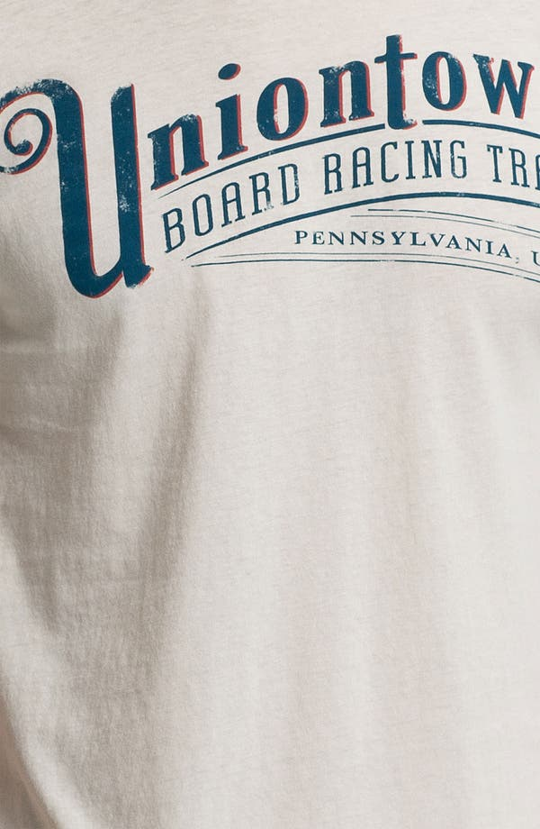Alternate Image 3  - Denim & Leathers by Andrew Marc 'Uniontown Board Race' Graphic T-Shirt