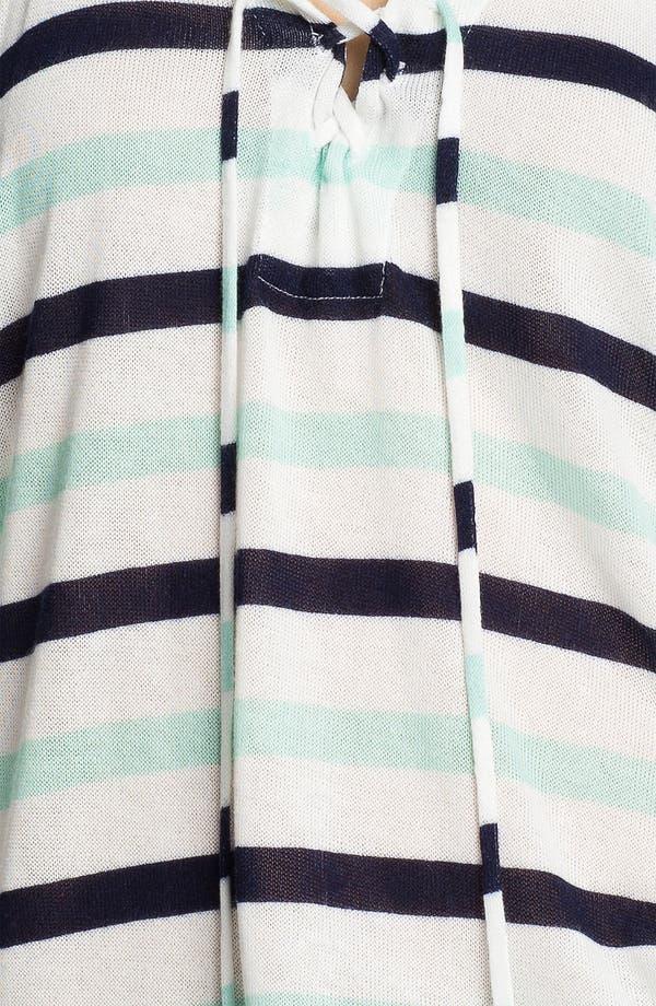 Alternate Image 3  - Splendid 'Clearwater' Stripe Lace-Up Top