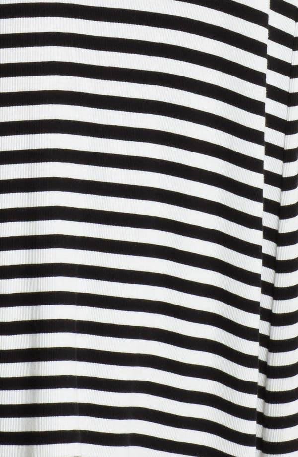 Alternate Image 3  - Lauren Ralph Lauren Stripe Knit Maxi Gown
