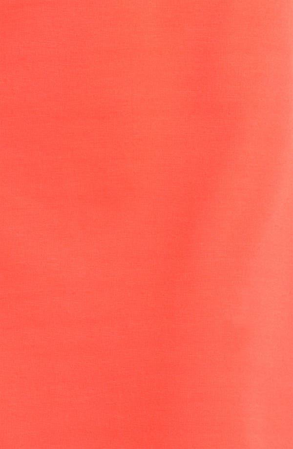 Alternate Image 3  - Donna Ricco Short Sleeve A-Line Dress