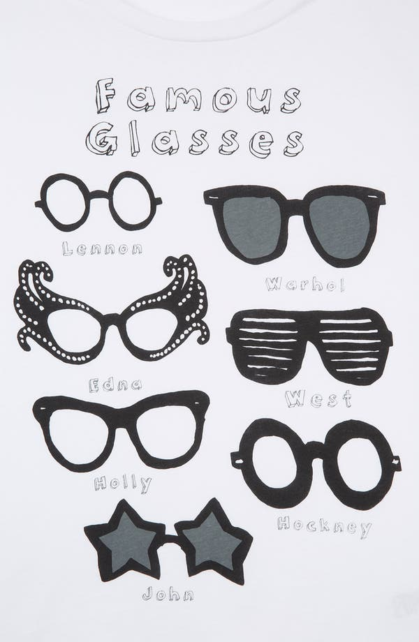 Alternate Image 3  - Topshop 'Famous Glasses' Graphic Tee (Petite)