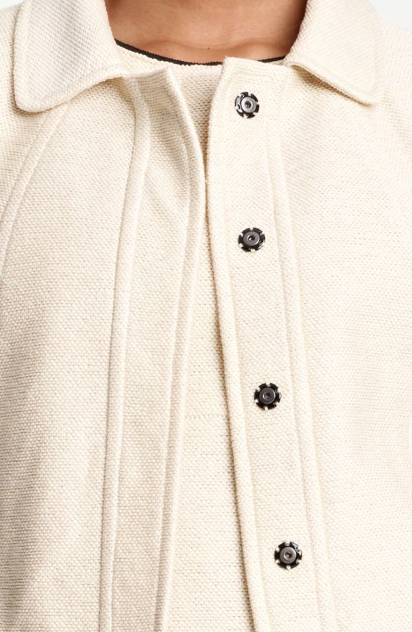 Alternate Image 5  - Lida Baday Jacquard Knit Crop Jacket