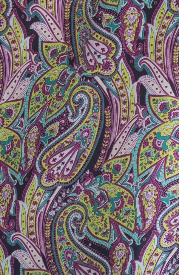 Alternate Image 3  - Hinge® Split Shoulder Paisley Silk Top