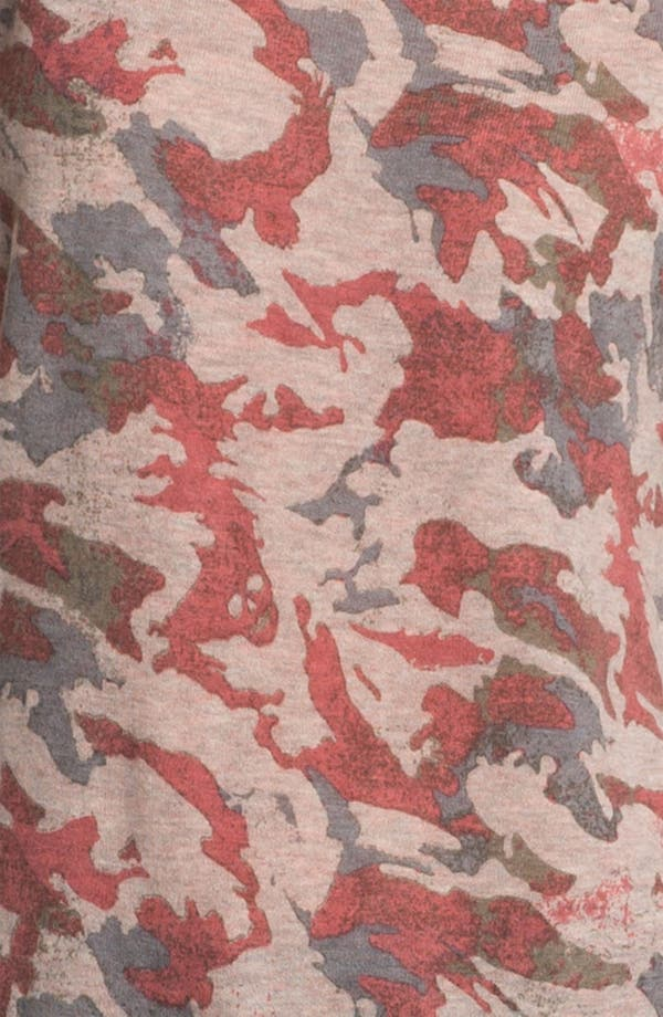 Alternate Image 3  - Zadig & Voltaire 'Data' Camo Print Cashmere Tee