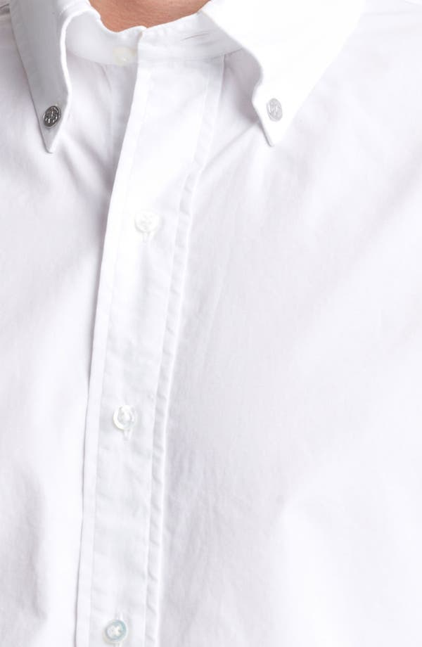 Alternate Image 3  - Brooks Brothers by Jeffrey Woven Broadcloth Shirt