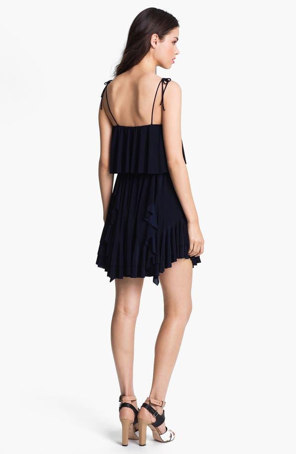 Alternate Image 2  - Tbags Los Angeles Ruffled Dress