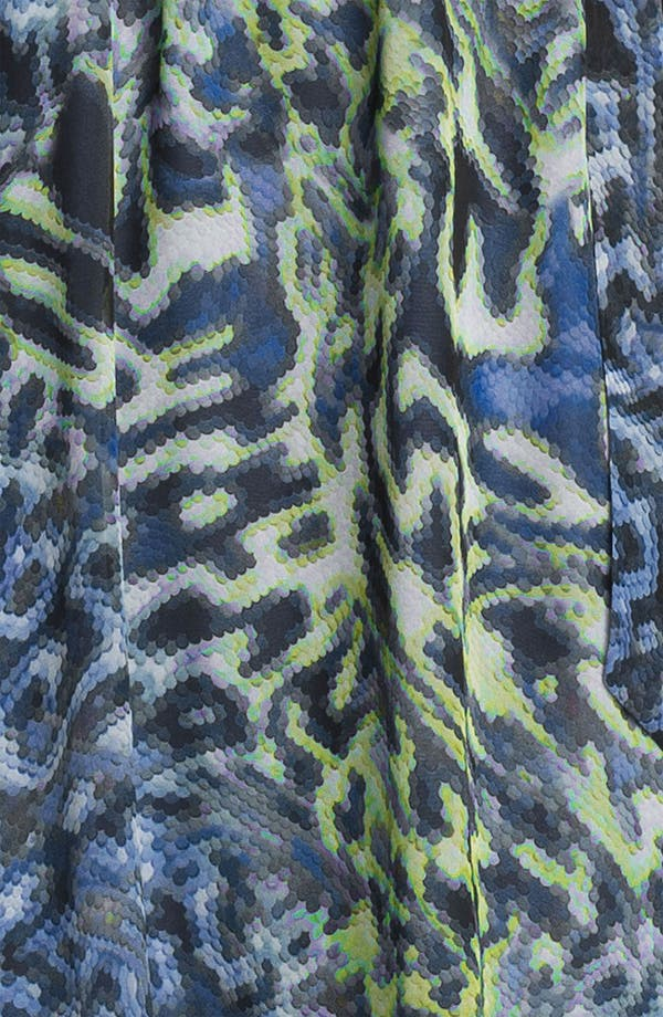Alternate Image 3  - Suzi Chin for Maggy Boutique Print Chiffon Maxi Dress