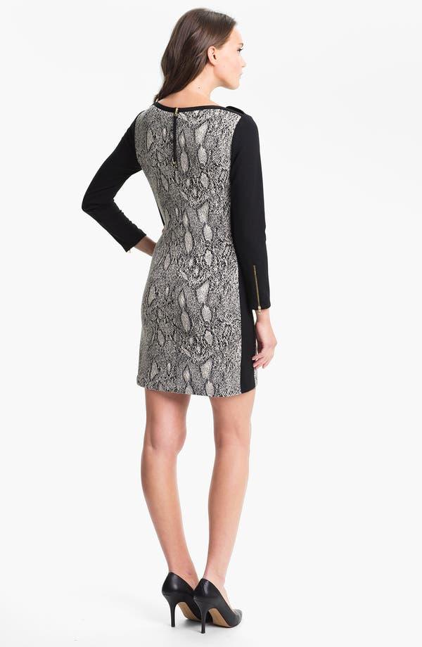 Alternate Image 2  - Rebecca Taylor Print Shift Dress