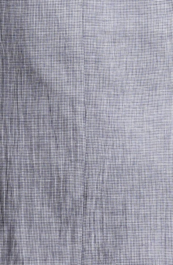 Alternate Image 3  - Shipley & Halmos 'Park' Houndstooth Cotton Blazer