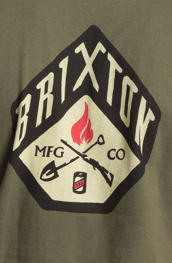 Alternate Image 3  - Brixton 'Stratton' Graphic T-Shirt