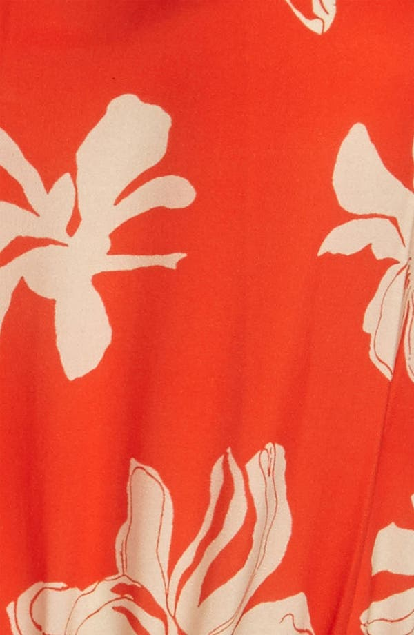 Alternate Image 3  - Viva Vena! Cutout Neckline Print Dress