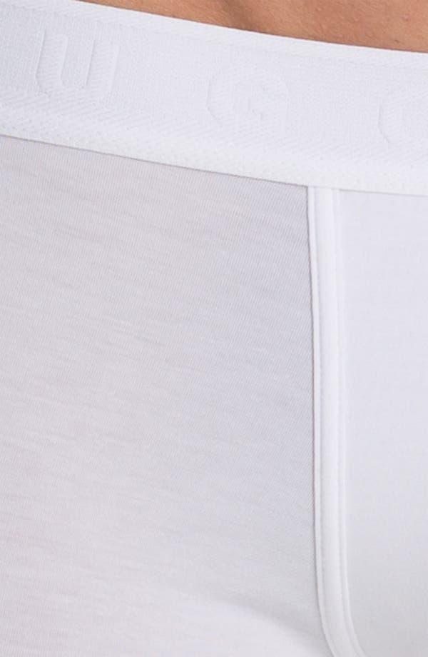 Alternate Image 3  - BOSS Pima Cotton Blend Trunks