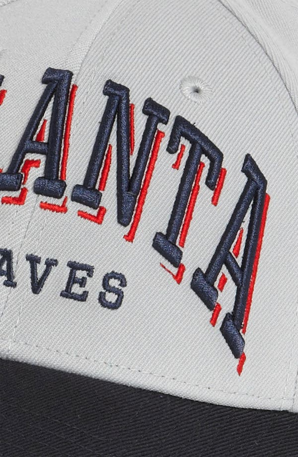 Alternate Image 3  - New Era Cap 'Atlanta Braves - Arch Mark' Fitted Baseball Cap