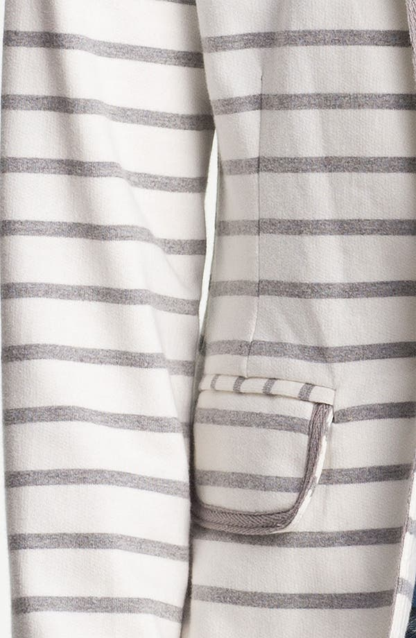 Alternate Image 3  - Olive & Oak Stripe Knit Blazer (Online Exclusive)