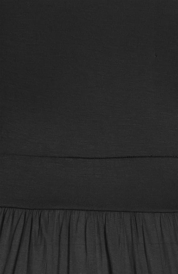 Alternate Image 3  - Tildon Sheer Knit Slip Dress