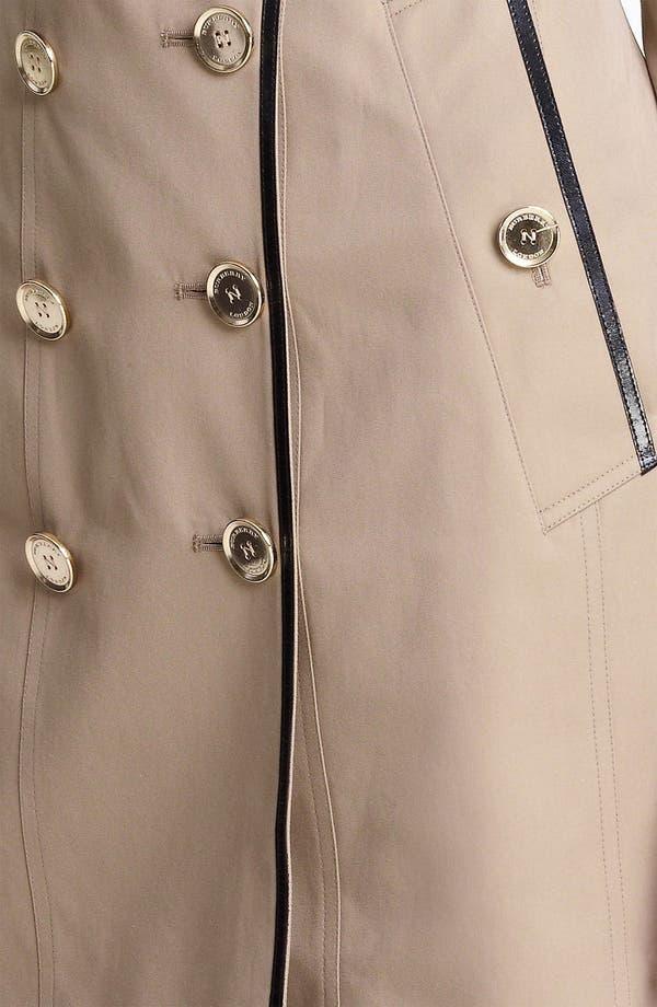 Alternate Image 3  - Burberry London Belted Gabardine Trench Coat