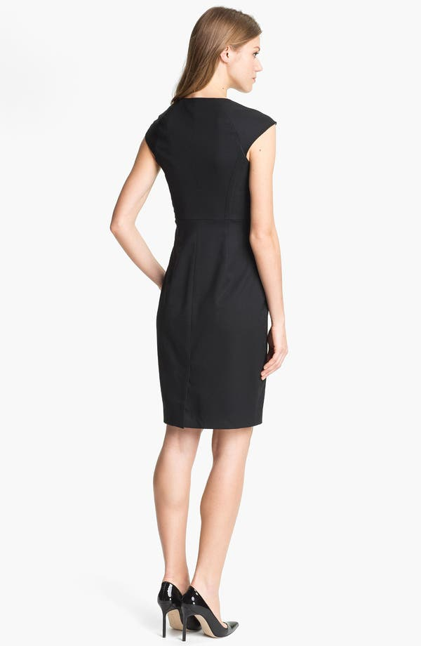 Alternate Image 2  - Ted Baker London 'Miakod' Wool Blend Sheath Dress
