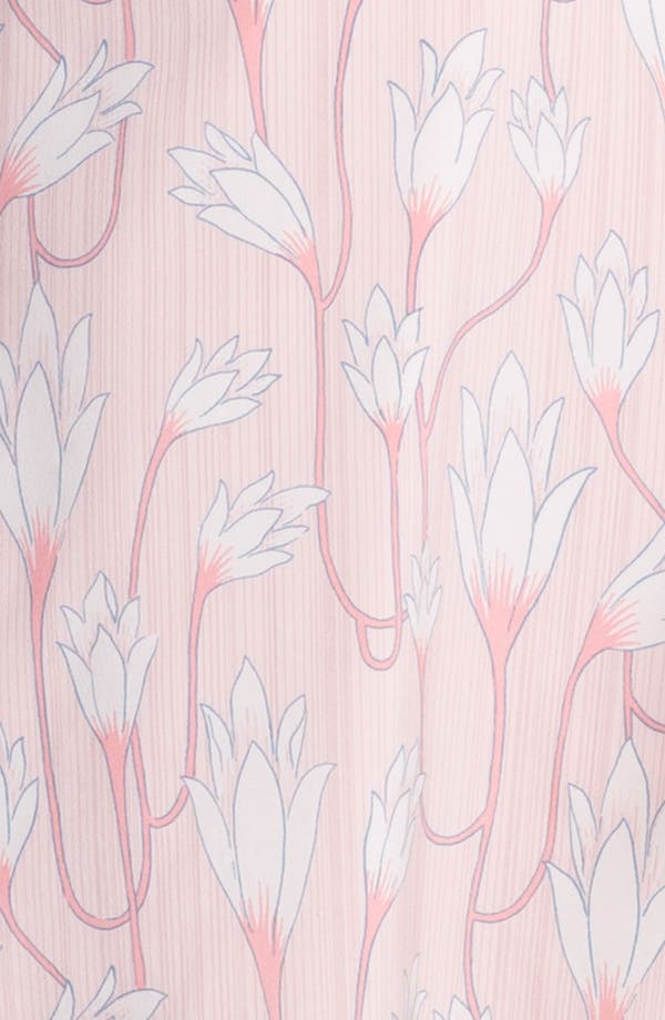 Alternate Image 3  - Tory Burch 'Jena' Stretch Silk A-Line Dress