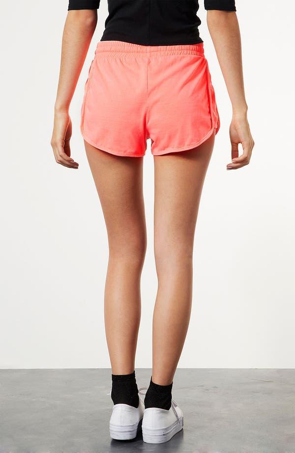 Alternate Image 2  - Topshop Neon Running Shorts
