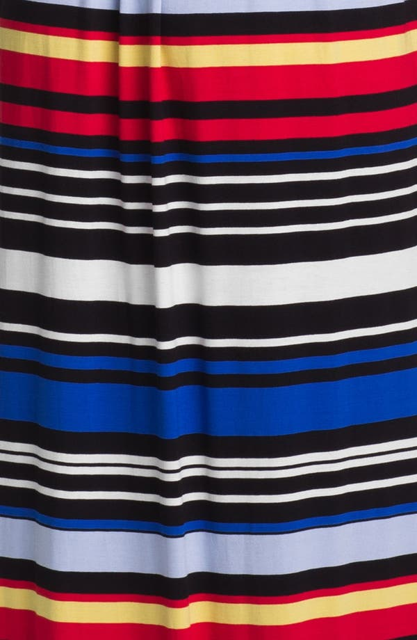 Alternate Image 3  - Vince Camuto Bright Stripe Halter Maxi Dress