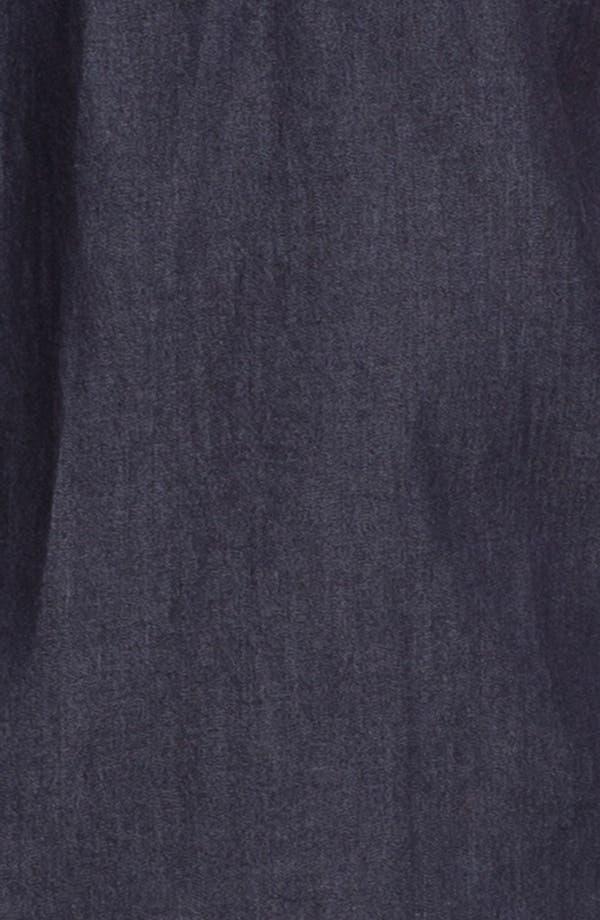 Alternate Image 3  - Topman 'Smart' Short Sleeve Chambray Denim Shirt
