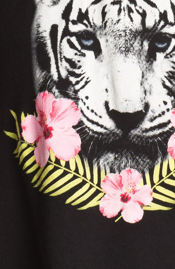 Alternate Image 3  - Wildfox Tiger Graphic V-Neck Tee